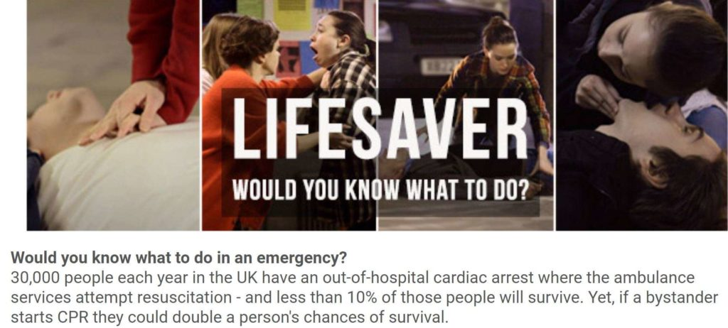 e-learning for health Lifesaver course