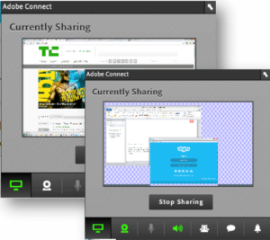 Adobe connect screen share image